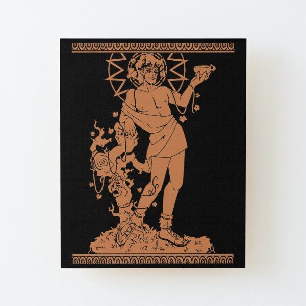 Dyonysus Wood Mounted Print