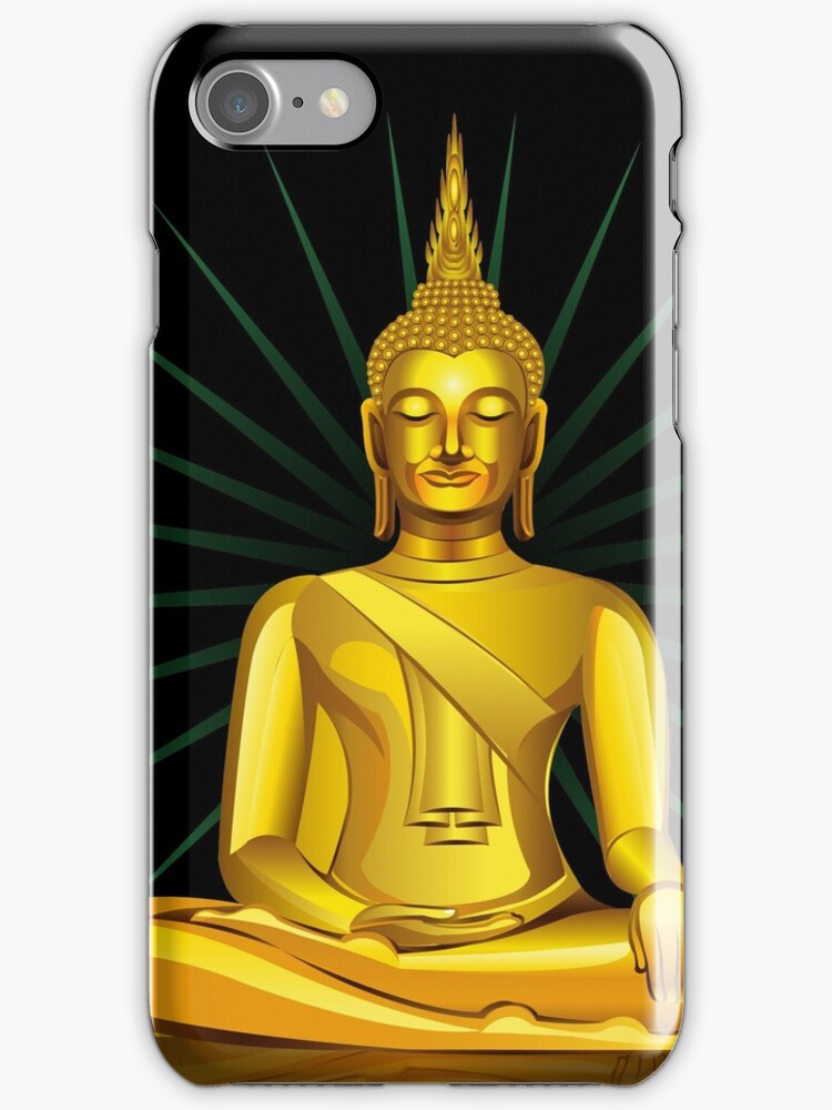 Buddha iPhone Case/ iPad Case/ Prints  / Samsung Galaxy Cases  by CroDesign