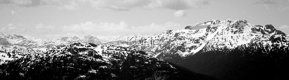 Mountain Scape by KMyles