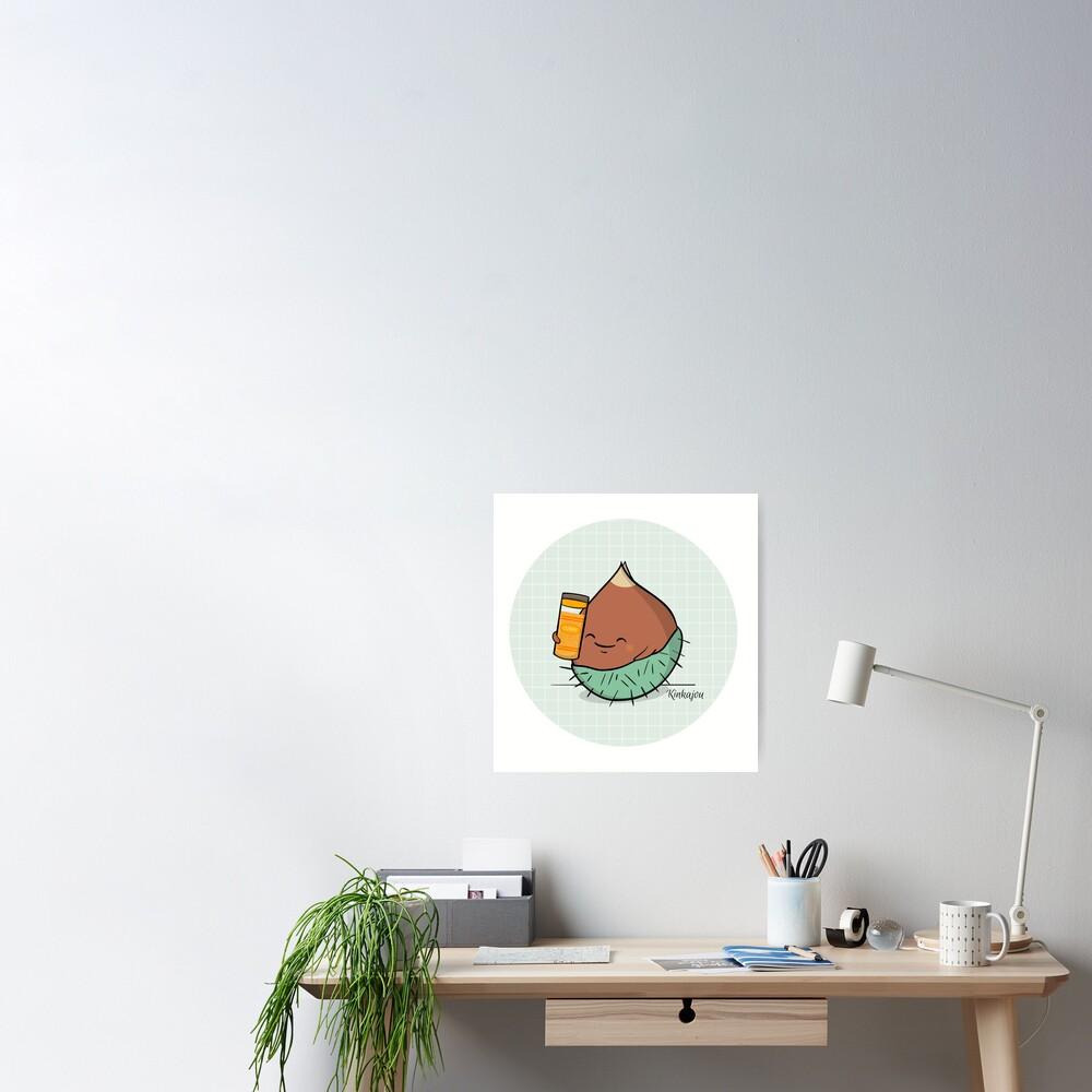 Poster «Kinkajou - Kuri-Kuri Curry»