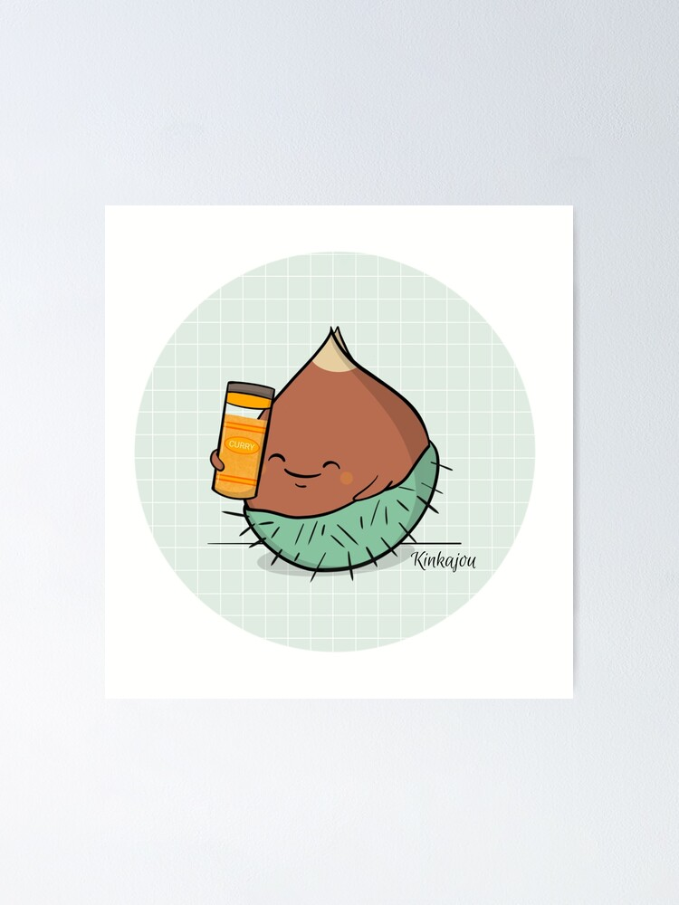 Poster ''Kinkajou - Kuri-Kuri Curry': autre vue