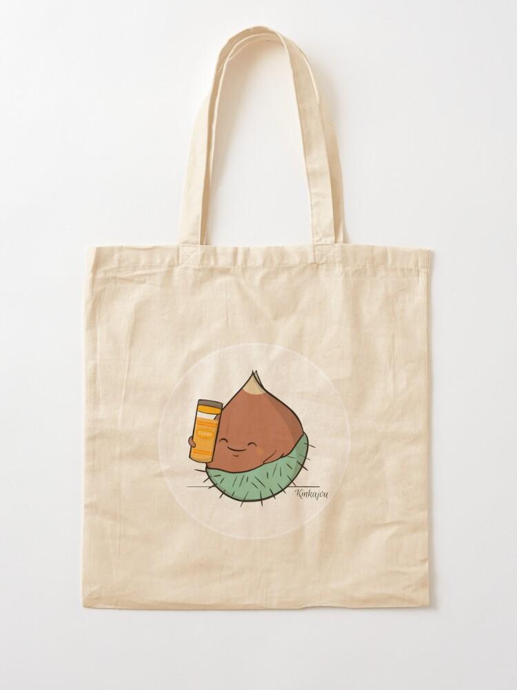 Tote bag ''Kinkajou - Kuri-Kuri Curry': autre vue