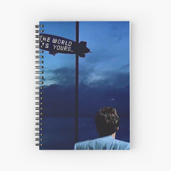 Scarface The World is Yours Spiral Notebook