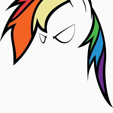 QQwich's Rainbow Dash Redux by Jarzek