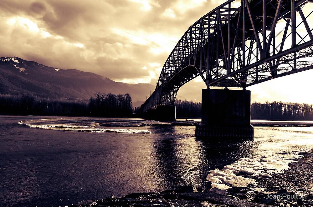 Watching the river run by Jean Poulton