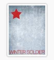 The Winter Soldier Sticker