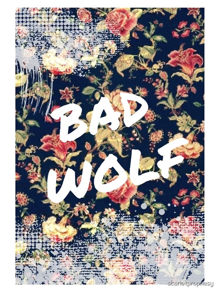 BAD WOLF by scarletprophesy