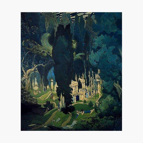 Leon Bakst. Elysium. 1906 Photographic Print