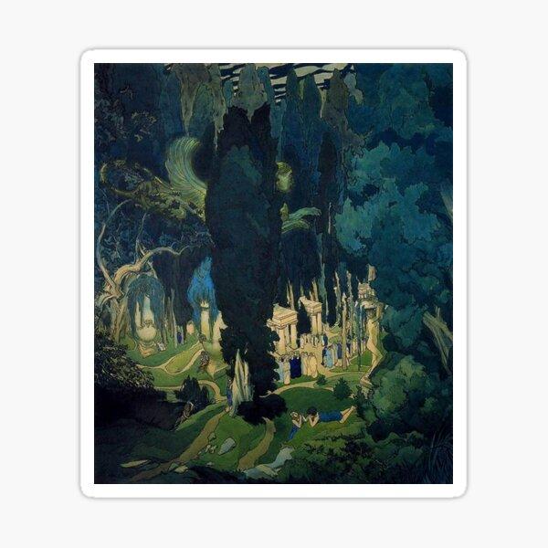 Leon Bakst. Elysium. 1906 Sticker
