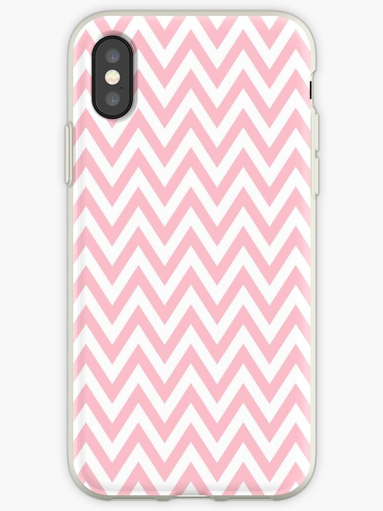 Light pink chevron pattern by Mhea