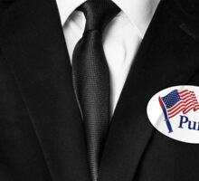 I Purged (Badge on suite) Election Year Sticker