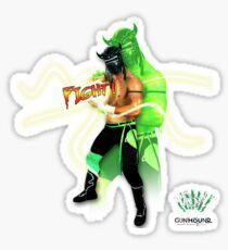 FIGHT - Lucha Riot City Wrestling series Sticker