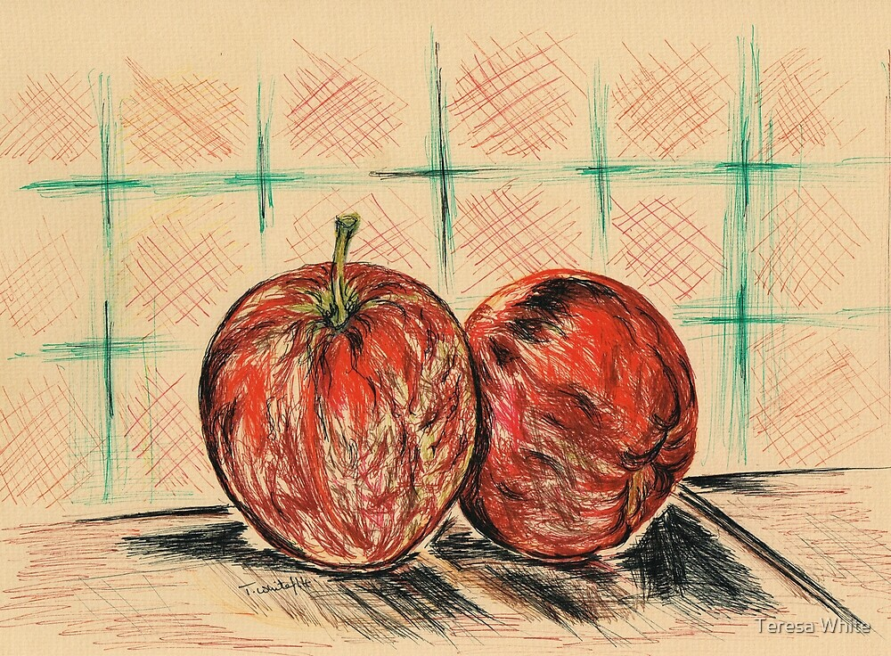 Red Apples by Teresa White