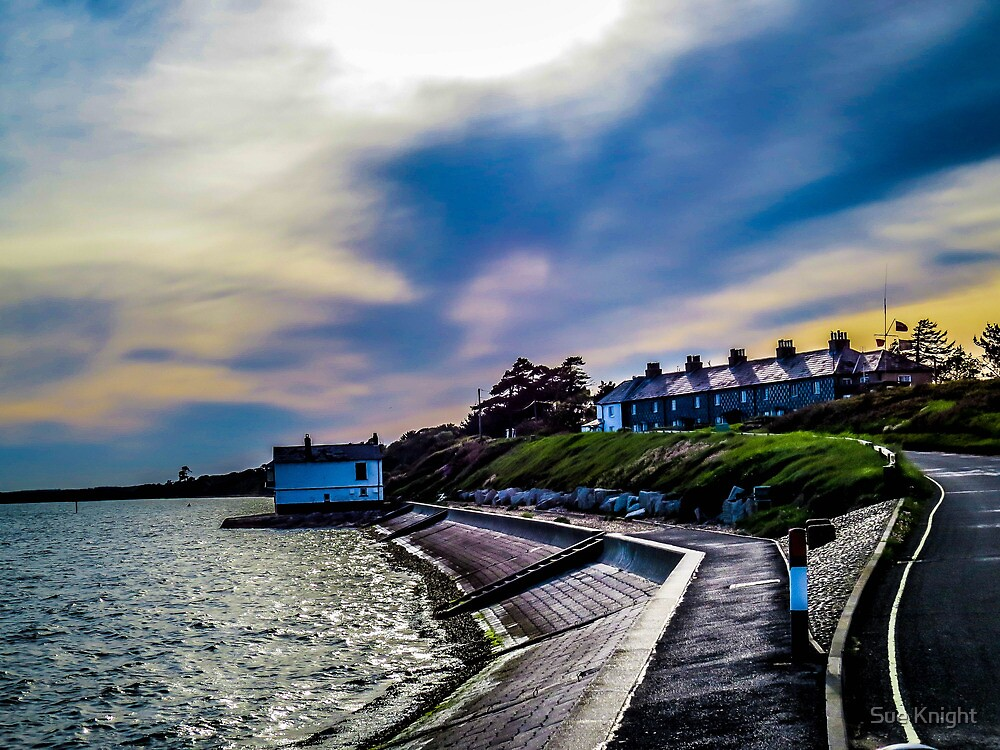 A dramatic view of Lepe beach by Sue Knight