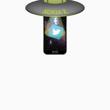 Nokia X UFO by deadlyfingers