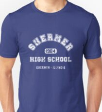 Shermer High school 1984 (worn look) Unisex T-Shirt