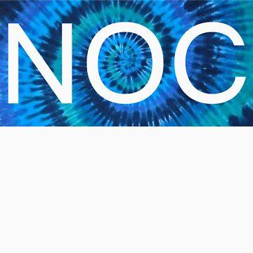 NOC Blue Tie-Dye by NoOneCares