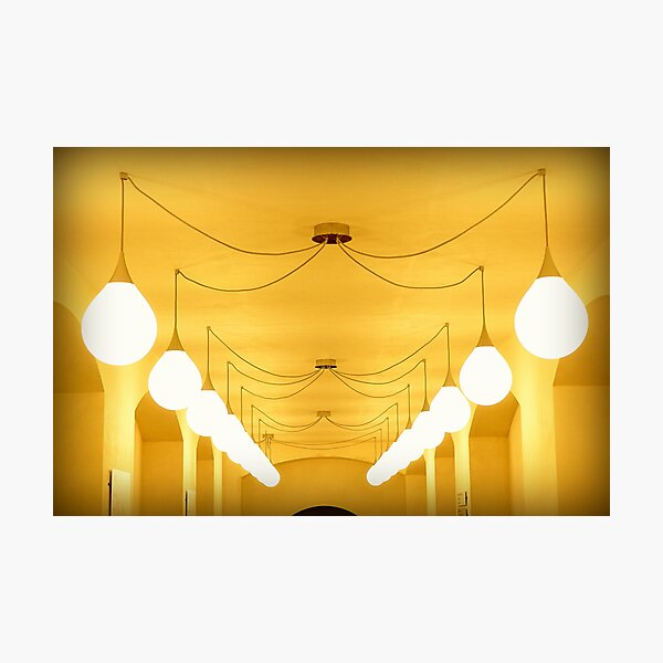 Cavern of light Photographic Print