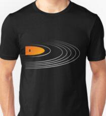 Musik Retro Schallplatte Unisex T-Shirt