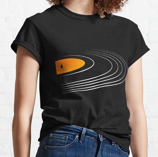 Music Retro Vinyl Record  Classic T-Shirt