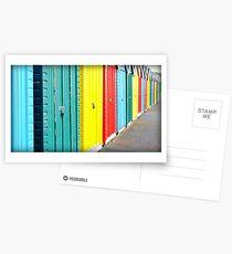 Bournemouth rainbow Postcards