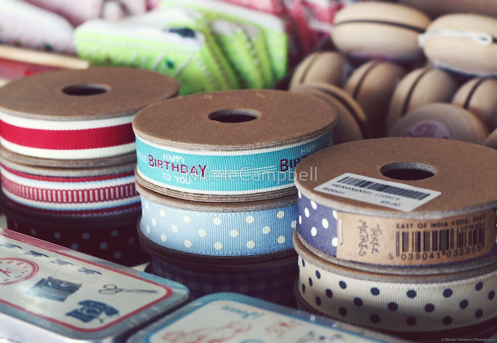 Birthday Ribbon by NicoleCampbell