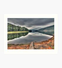 Lake William Hovell Art Print