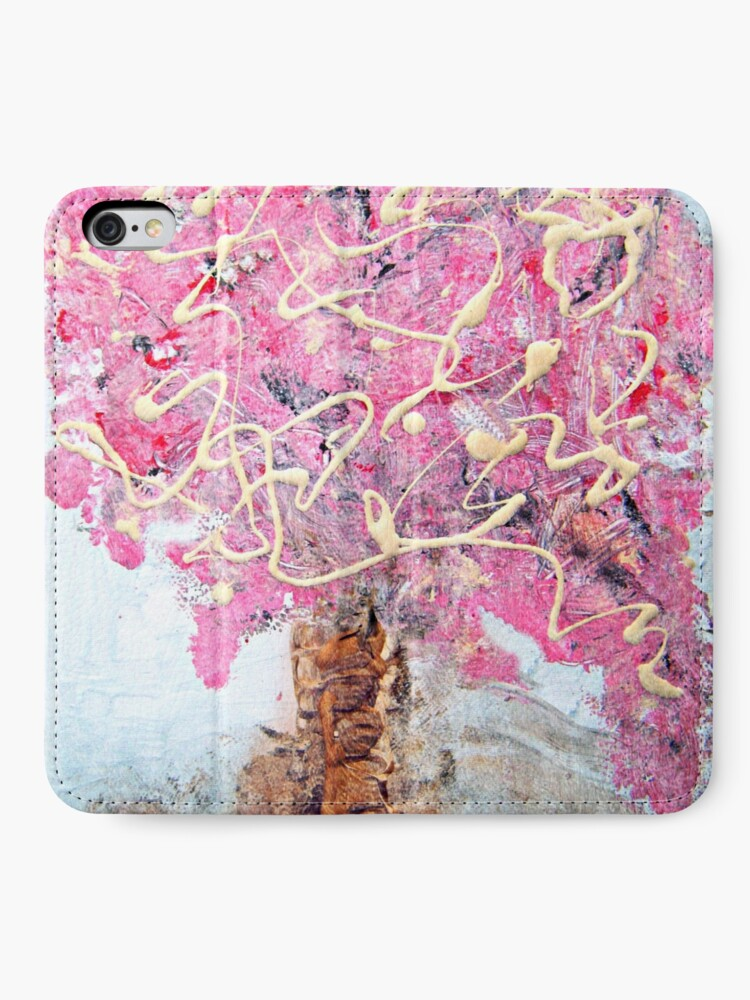 Alternate view of Cherry Tree iPhone Wallet