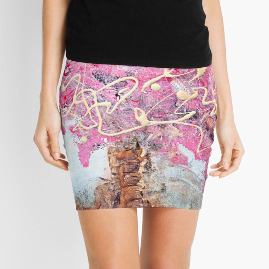 Cherry Tree Mini Skirt