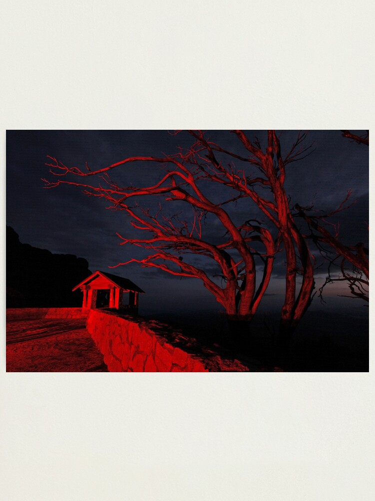 Alternate view of Red Mountain Photographic Print