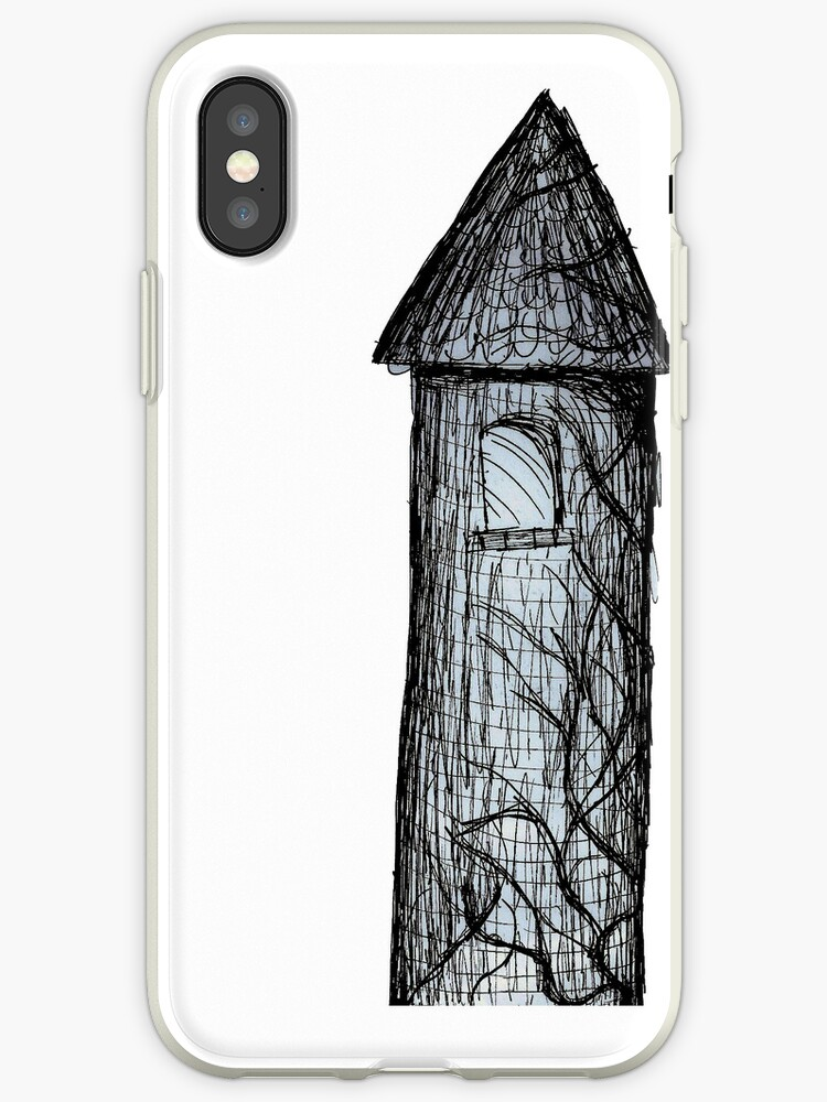 Fairy Tale Tower Drawing Case by melindavaelioja