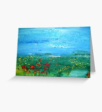 Meadow Pond Greeting Card