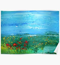Meadow Pond Poster
