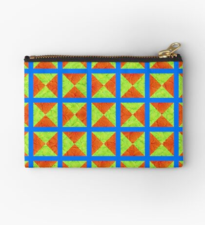 #DeepDream factures #art Zipper Pouch