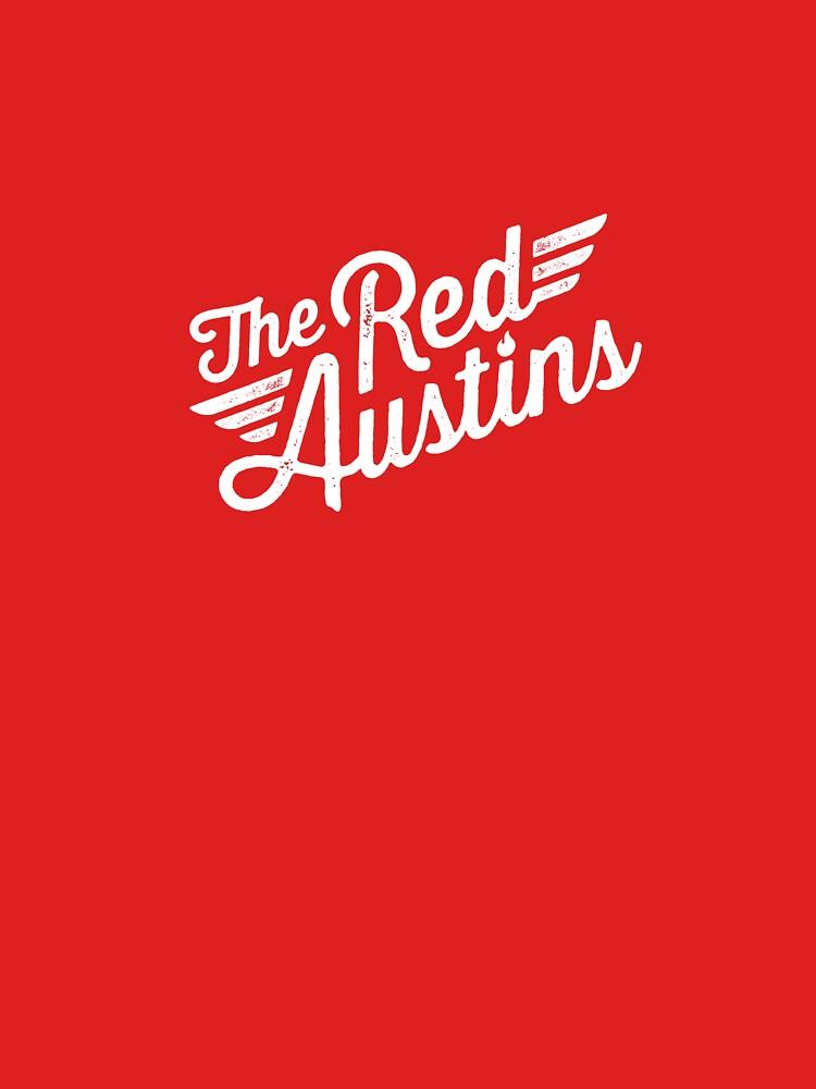 The Red Austins (centre) by krjmanderson