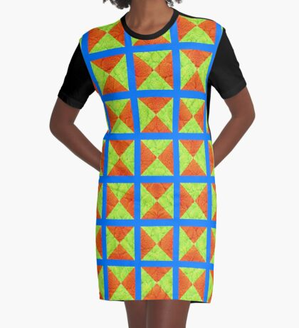 #DeepDream factures #art Graphic T-Shirt Dress