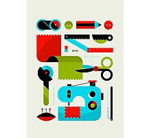 Sewing Photographic Print