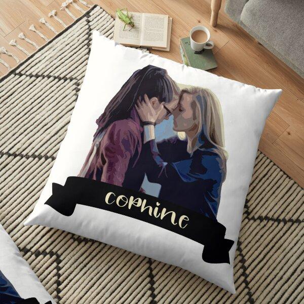Cophine OrphanBlack CloneClub Sestras Clone Club Orphan Black Fanart Floor Pillow