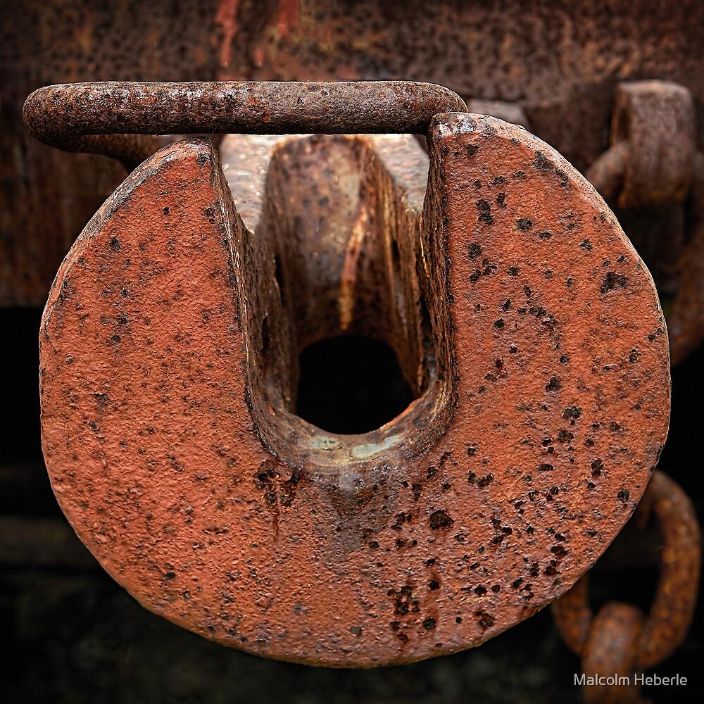 """ Railway Rust "" by Malcolm Heberle"