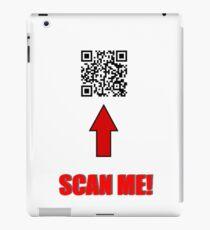 Rick Astley - QR Code iPad Case/Skin