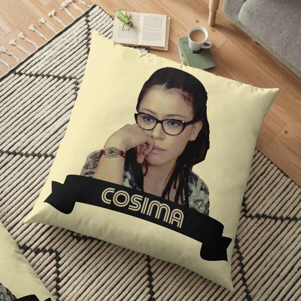Cosima OrphanBlack CloneClub Sestras Clone Club Orphan Black Fanart Floor Pillow
