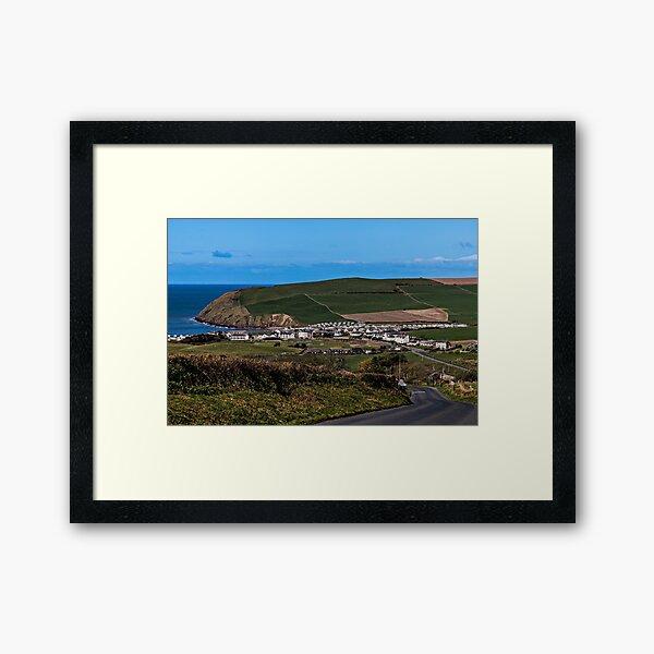St Bees, West Cumbria Framed Art Print