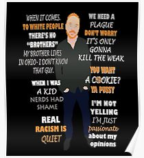 Bill Burr Quote Poster