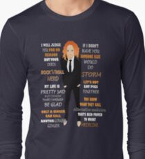 Tim Minchin Quotes Long Sleeve T-Shirt