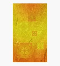Mysterious solar flowers Photographic Print