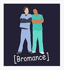 Scrubs- Bromance Photographic Print