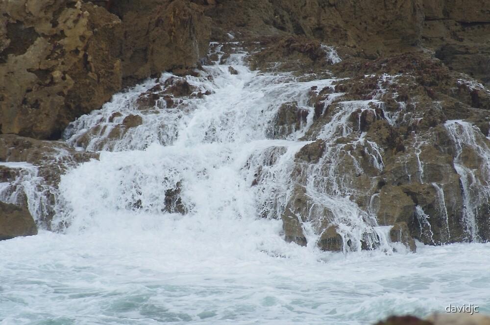 After the wave, Robe South Australia by davidjc