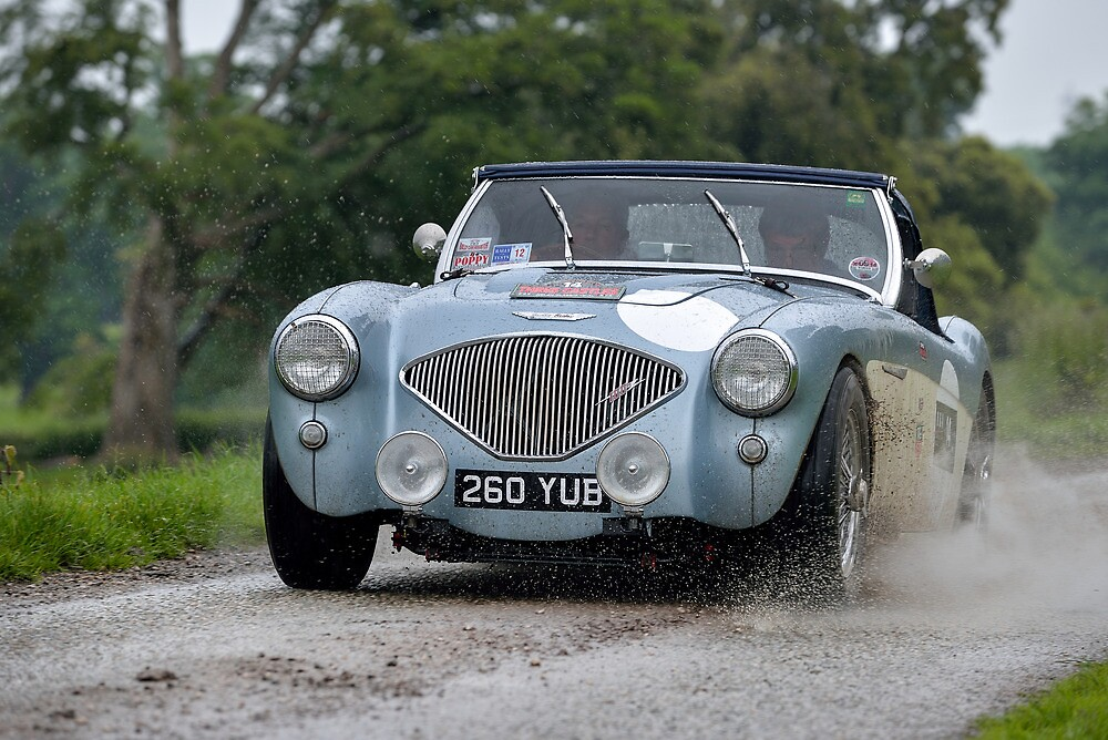 The Three Castles Welsh Trial 2014 - Healey by Three-Castles