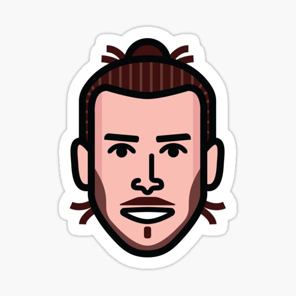 Gareth Bale Stickers Redbubble