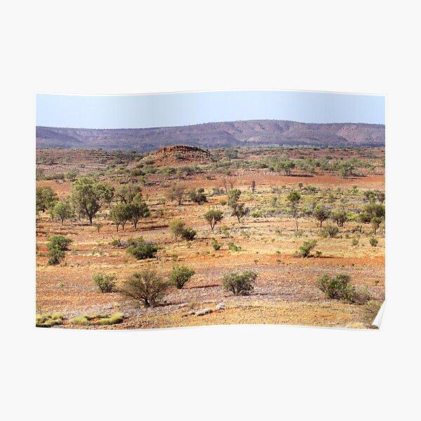 Central Australian Rainbow Poster